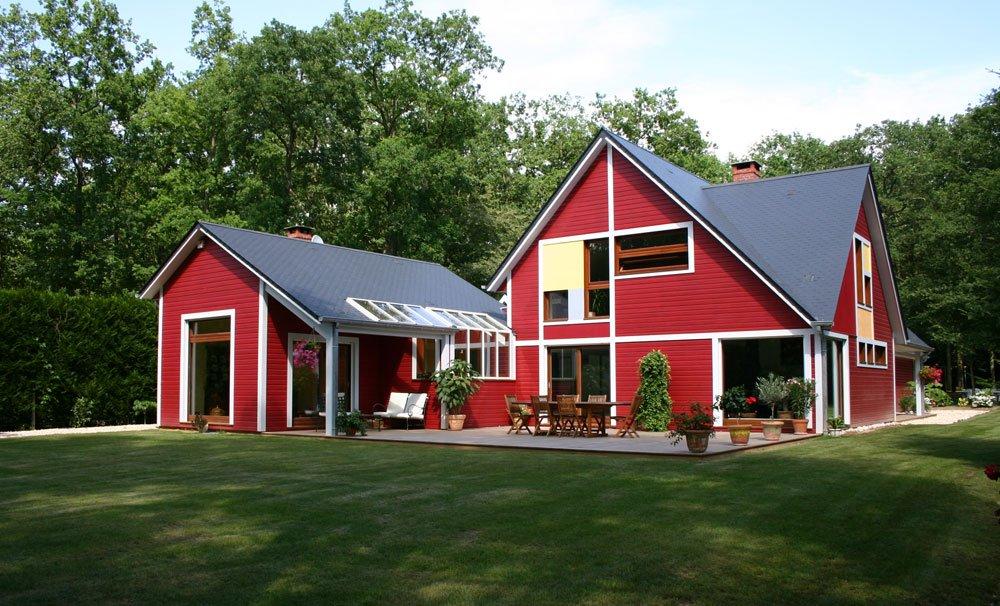 заявила, фото дачных домов красного цвета происходит при тактильном