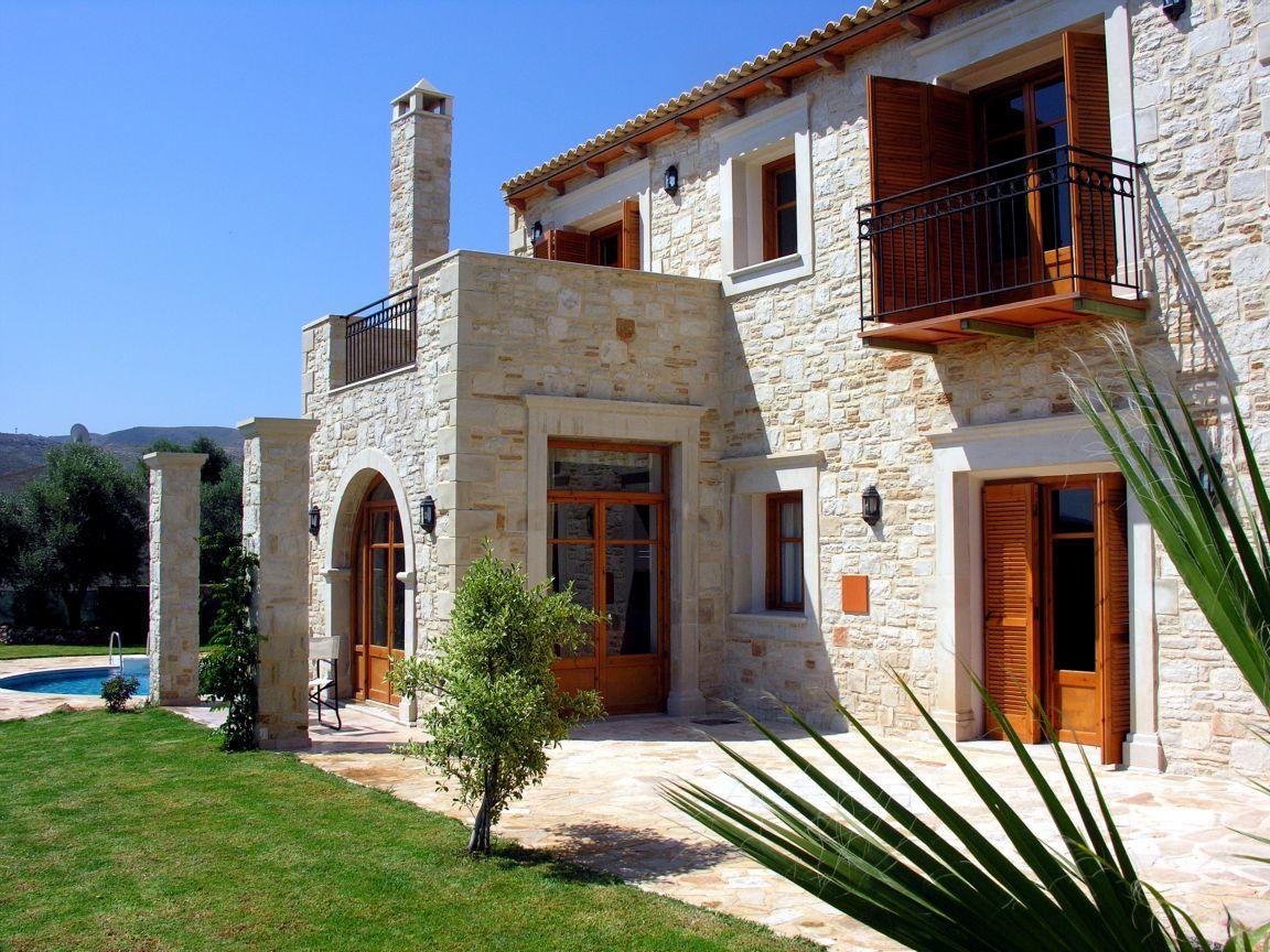 фасад в средиземноморском стиле фото все