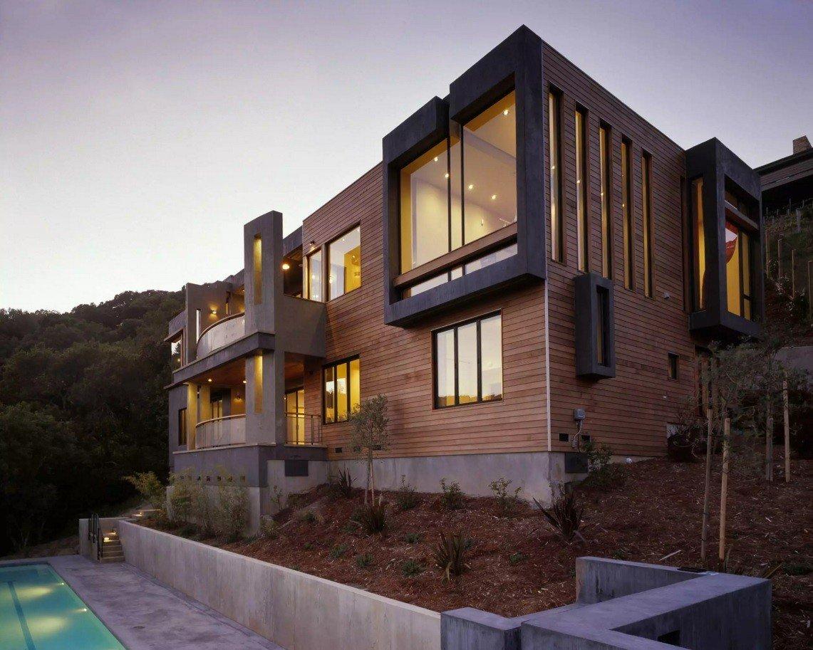 готовить стильный фасад дома фото изумрудный оттенок идеально