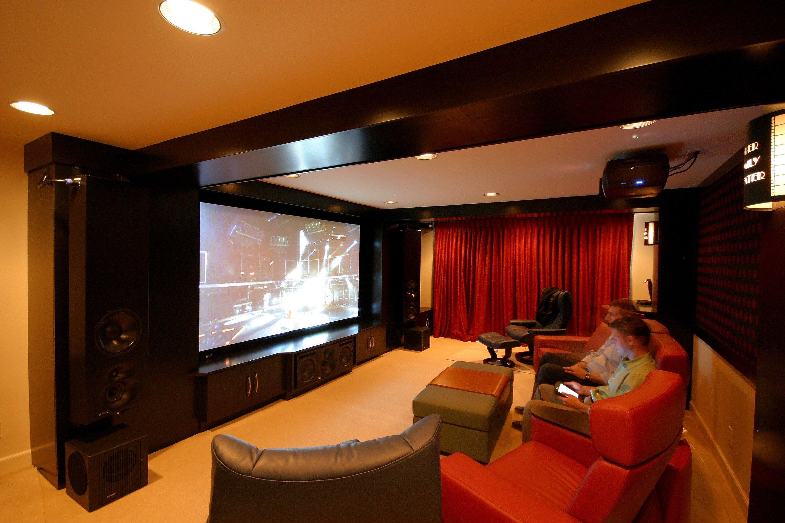 Фото домашних кинотеатров в доме