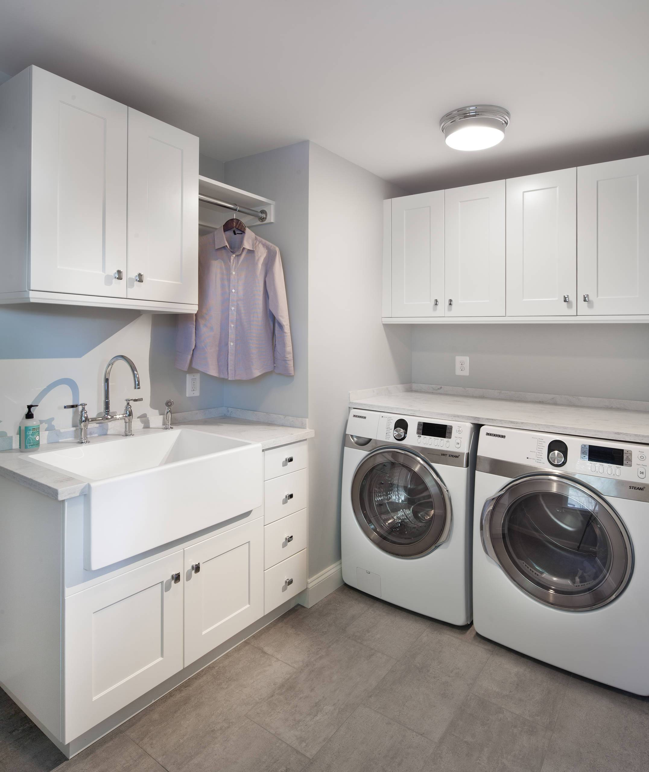 modern laundry room images - 736×780